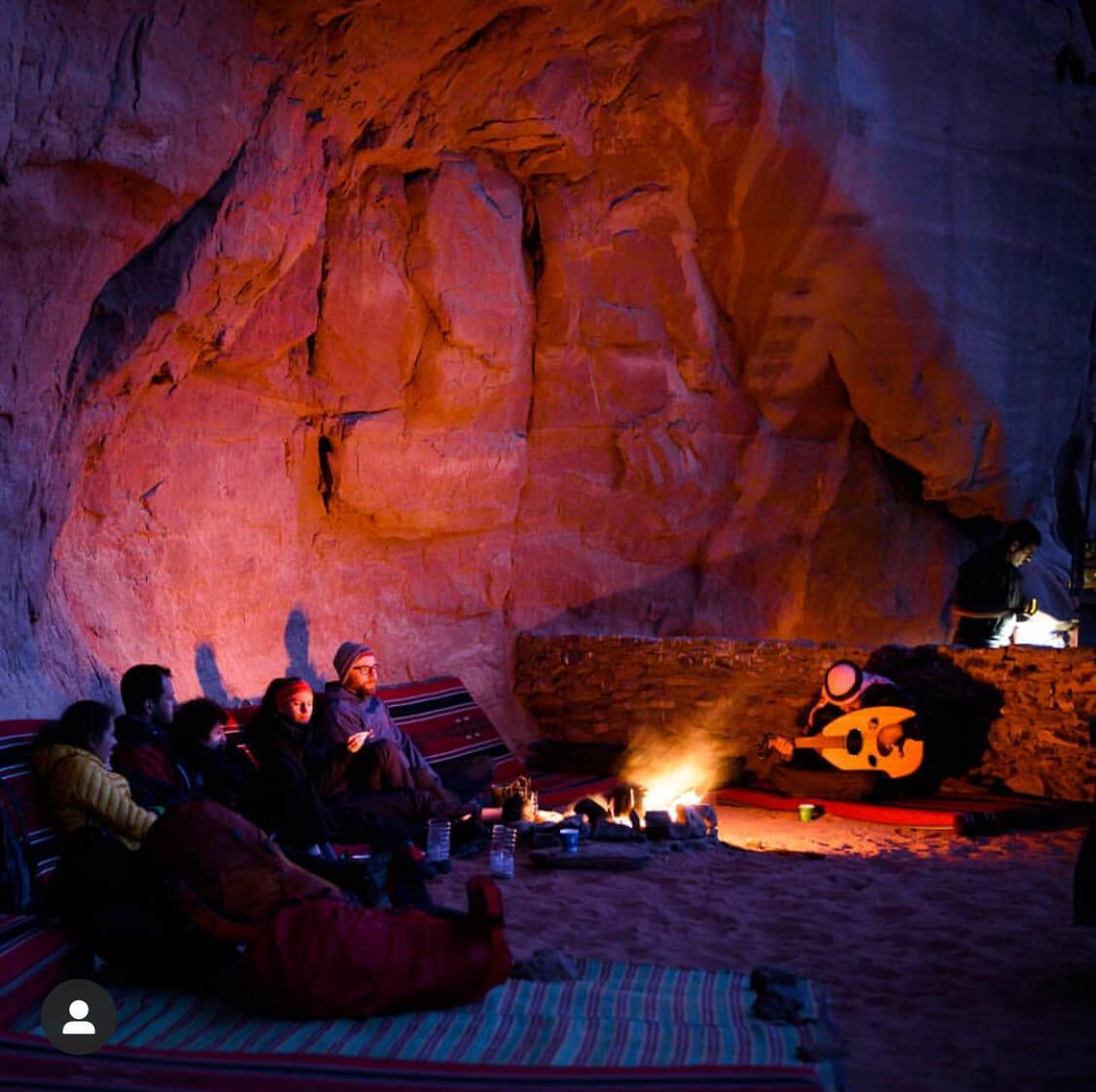 Wadi Rum wild camping